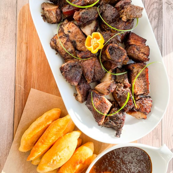 Jerk Pork (Oven-Cooked)