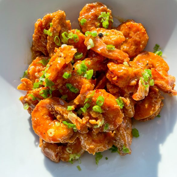 Bang Bang shrimp is a popular American appetizer that is the signature dish of Bonefish Grill. I've had this dish at other restaurants and thought it was amazing. I